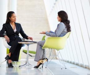 Counseling female professional